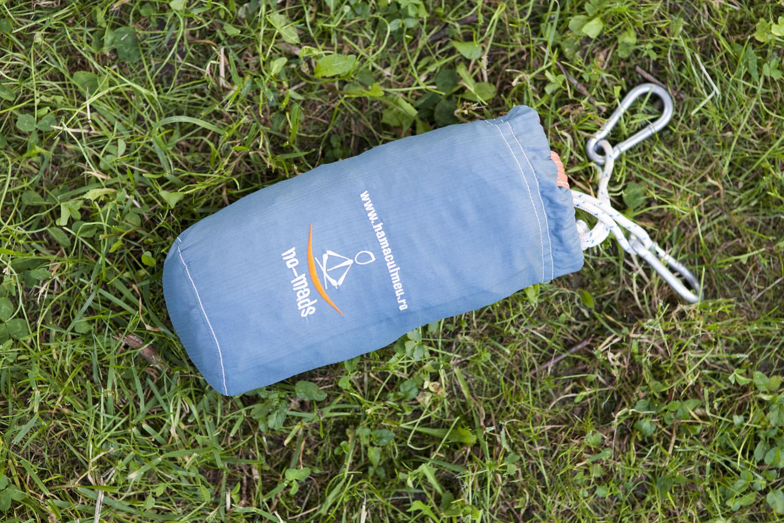 hamac ripstop blue-orange saculet